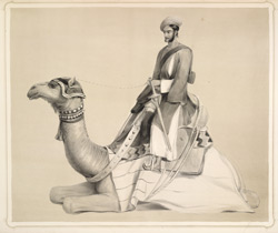 Sketch of a Shootr-Suwar, an attendant on an Indian Camp